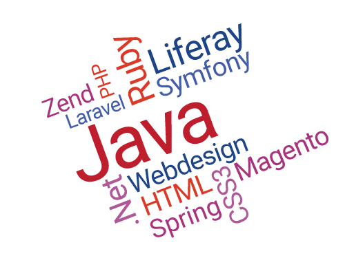 Technologies of Java, Ruby, PHP & .Net